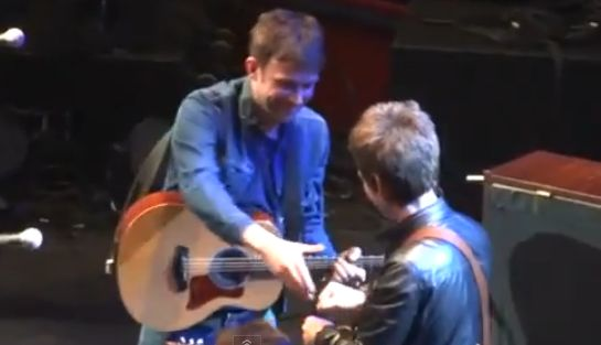 damon albarn-noel gallagher