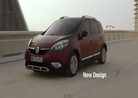 Renault scenic pubblicità
