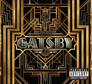 the great gatsby colonna sonora cover
