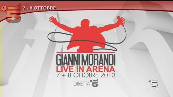 gianni morandi-live in arena-verona-canale 5