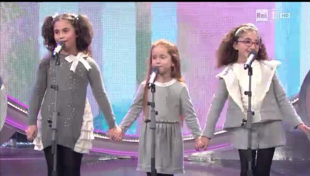 Carola Sorace, Serena Guarrata e Claudia Zingarelli