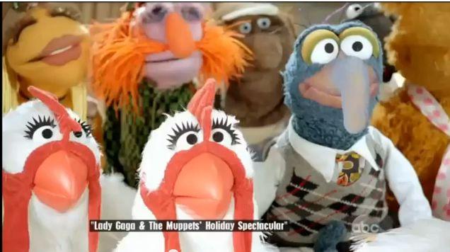ladygaga muppet