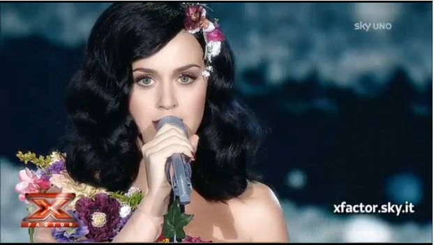 katy perry x factor
