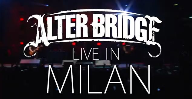 alterbridge live milan