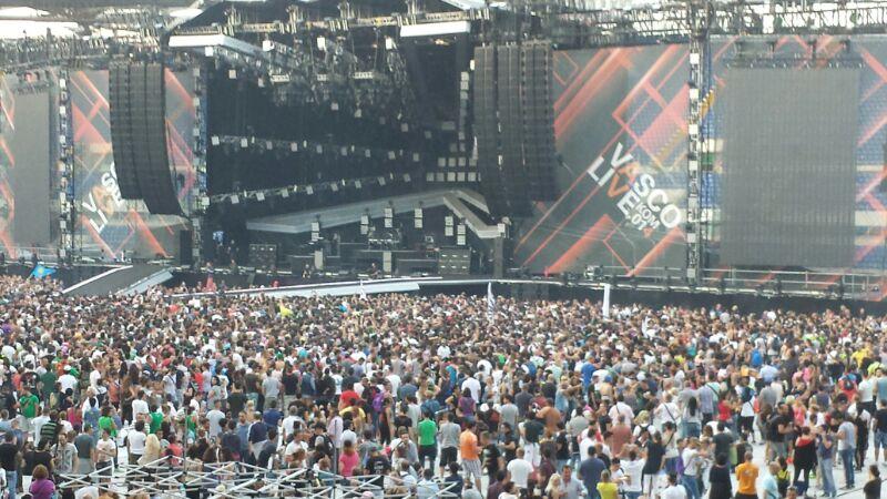 Vasco Rossi Stadio Olimpico Roma