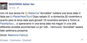 madonna italian fan