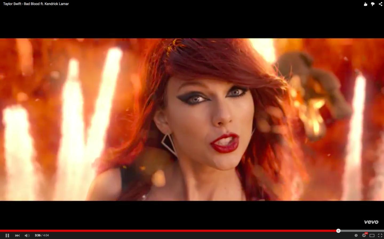Taylor swift bad blood video ufficiale testo e traduzione - Dive testo e traduzione ...