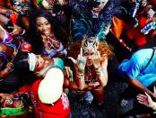 rihanna carnevale barbados foto hot copertina